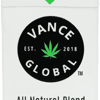 All Natural Hemp Cigarettes By Vance – (Pack Of 10) – Organic Herbal Hempettes – Tobacco & Nicotine Free