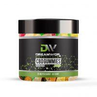CBD Gummies Mixed Fruit 2000mg / 80ct (Letters)
